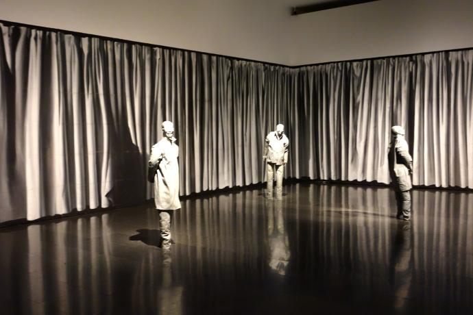"""The Nature of Visual Illusion"" by Juan Muñoz, 1994-1997"